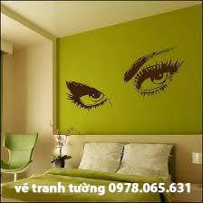 vẽ tranh tường phòng khách,vẽ tranh tường nghệ thuật