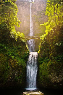 Multnomah WaterFalls, Oregon