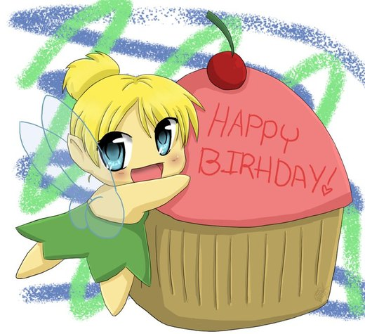 Tinker Bell Birthday por ArtNinja93