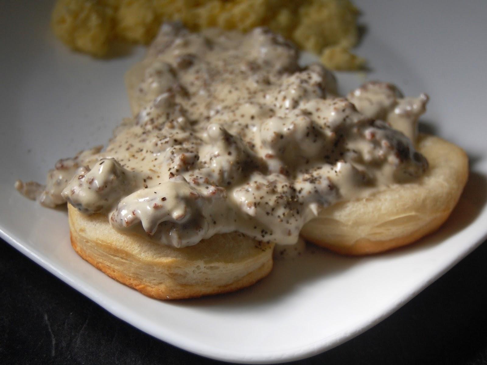 Cassie Craves: Biscuits with Sausage Gravy