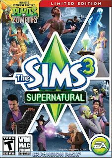 Download Full Version The Sims 3 Supernatural (2012) FLT PC Game