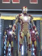 . se prepara para la promocion y publicidad de la muy espreada ironman 3. (iron man gold)