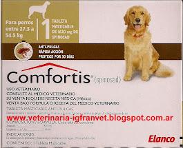 Comfortis para perros entre 27.3 y 54.5 kg