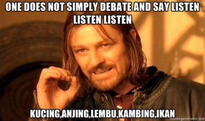 Himpunan Respon sempena Sharifah Zohra Jabeen Listen Listen