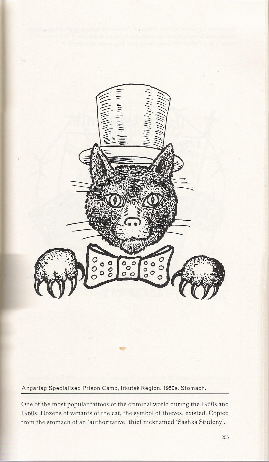 And here are pages from the book of russian criminal for Russian criminal tattoo encyclopedia