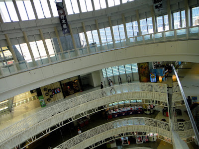 Inside Dream Mall in Kaohsiung Taiwan
