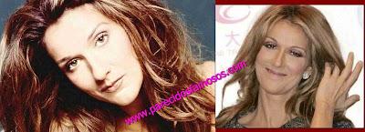 Celine Dion antes y después