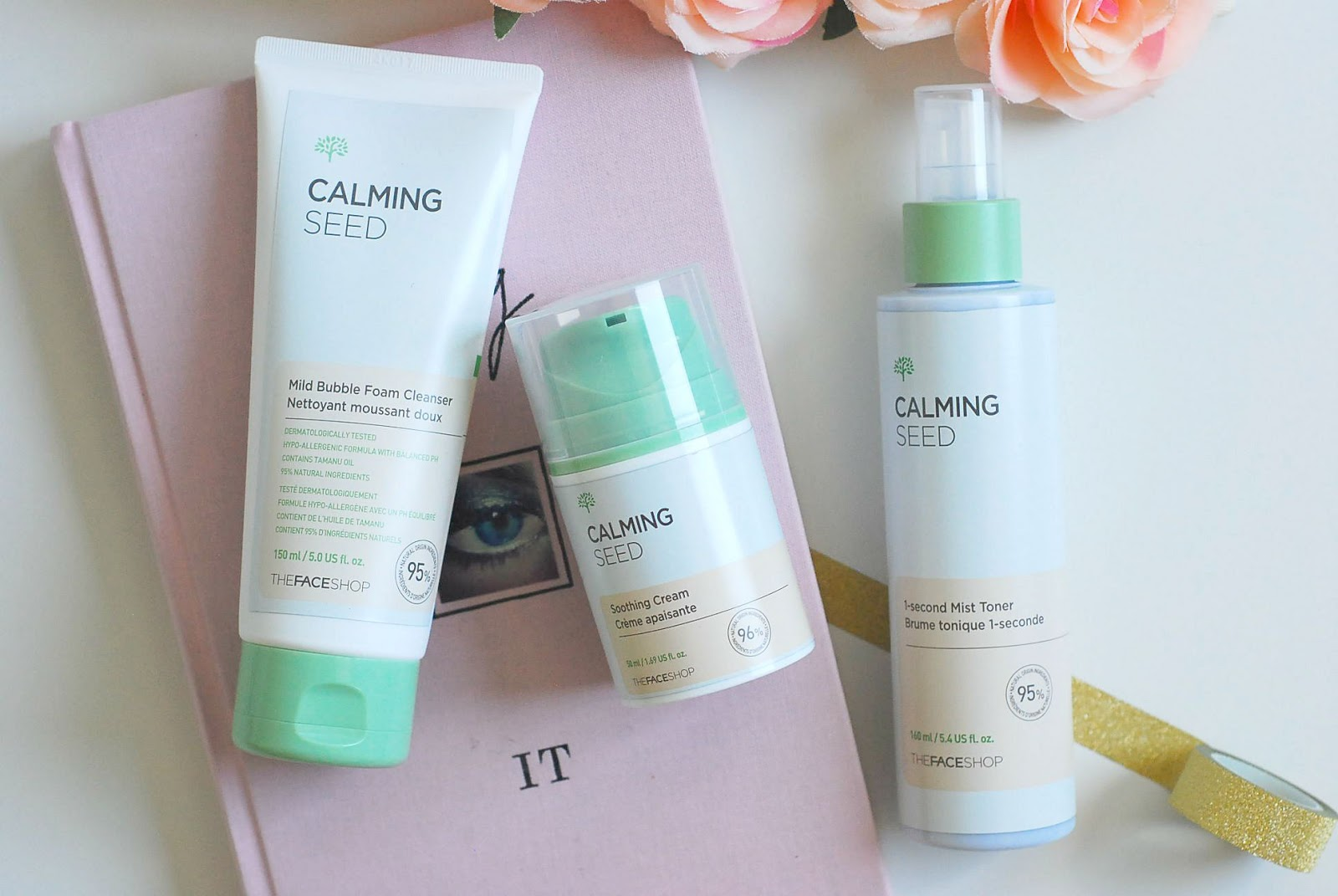 THEFACESHOP Calming Seed Skincare | Review U2014 A Certain Romance