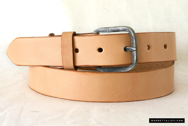 The Barrett Alley Smuggler's Belt