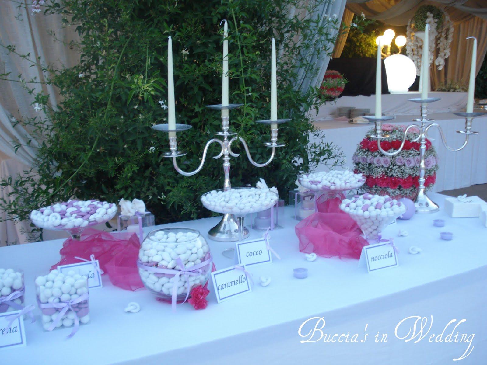 Buccia 39 s cakes allestimento matrimonio glicine - Addobbi tavoli per 18 anni ...