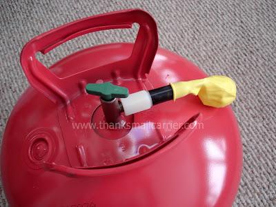 helium tank use