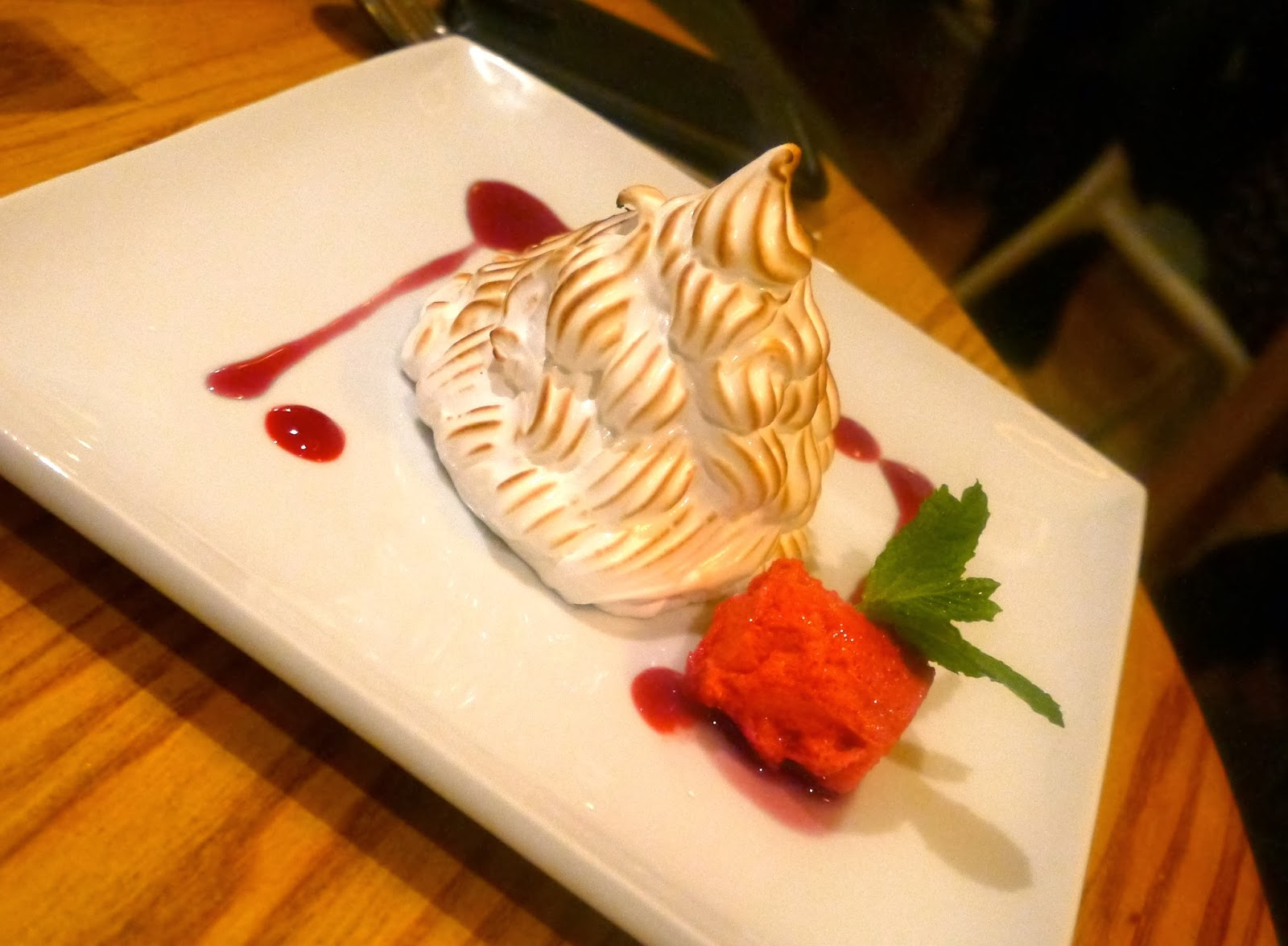 Baked Alaska - well retro!