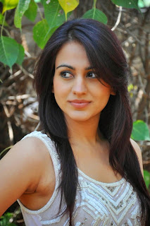 Actress Aksha Pardasany Latest Pictures in White Jeans at Dr Saleem Success Meet  002