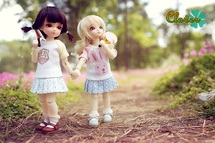 Pink Heart String: 15 cute Kiddy Doll Photos