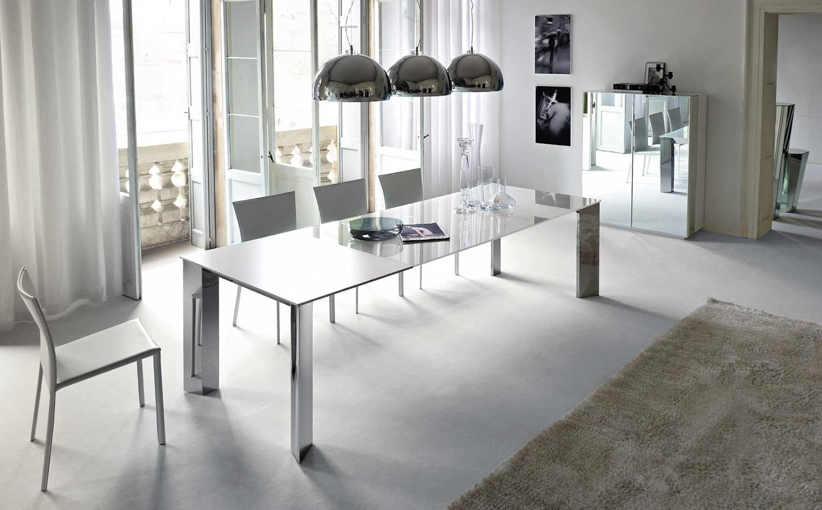 inspirational of home interiors and garden: modern dining tables