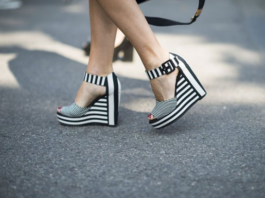 black white shoes, striped shoes, spring 2013