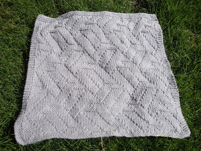 Slip Stitch Baby Blanket Free Knitting Pattern