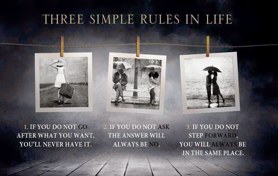Three rules of the secret annex