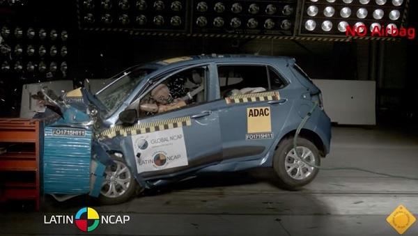 Latin NCAP Hyundai Grand i10