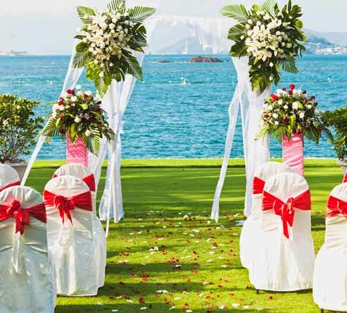 Outdoor Beach Wedding Decoration California Ideas pictures