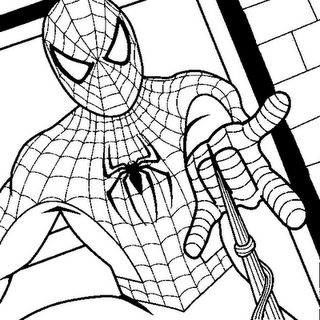 spiderman color pages print out, spiderman coloring pages free to ...