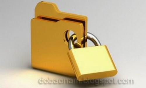 Cách đặt mật khẩu bảo mật cho folder