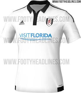 gambar desain jersey musim depan di enkosa sport Jersey home Fulham terbaru musim depn 2015/2016 Leaked toko online pakaian olahraga terpercaya