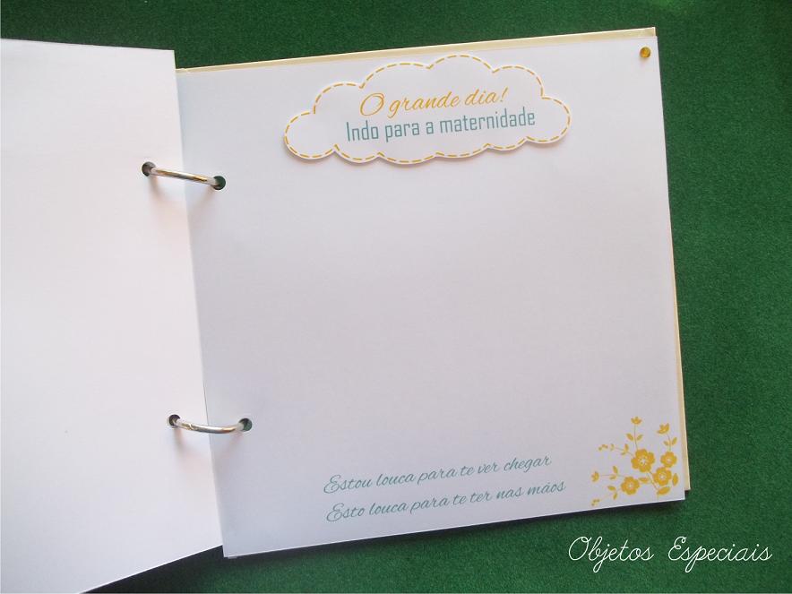 Álbum Gestante - Presente para grávidas