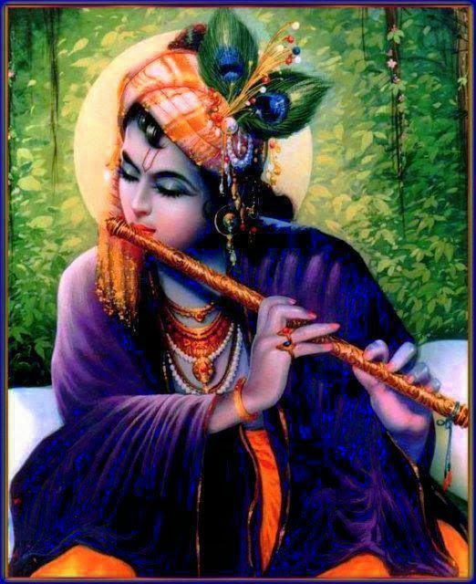 Krishna with His Bansuri