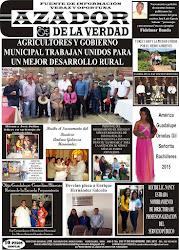 Periódicos impresos del junio 2014 agosto 2015 del Semanario Cazador de la Verdad