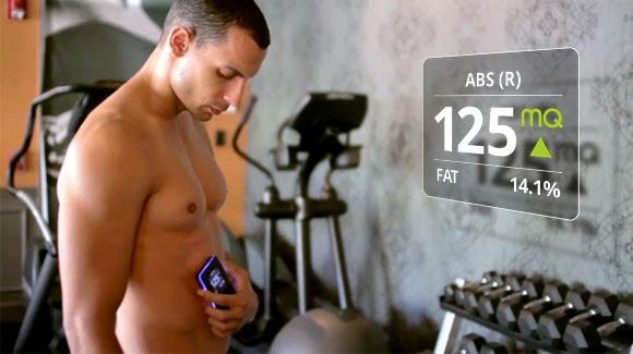 أول جهاز في العالم لقياس لياقة العضلات بلمسة واحدة