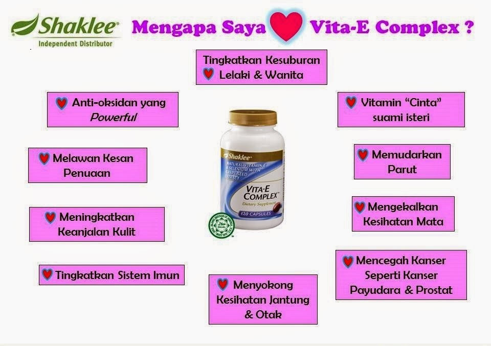 Fungsi Vitamin E Shaklee