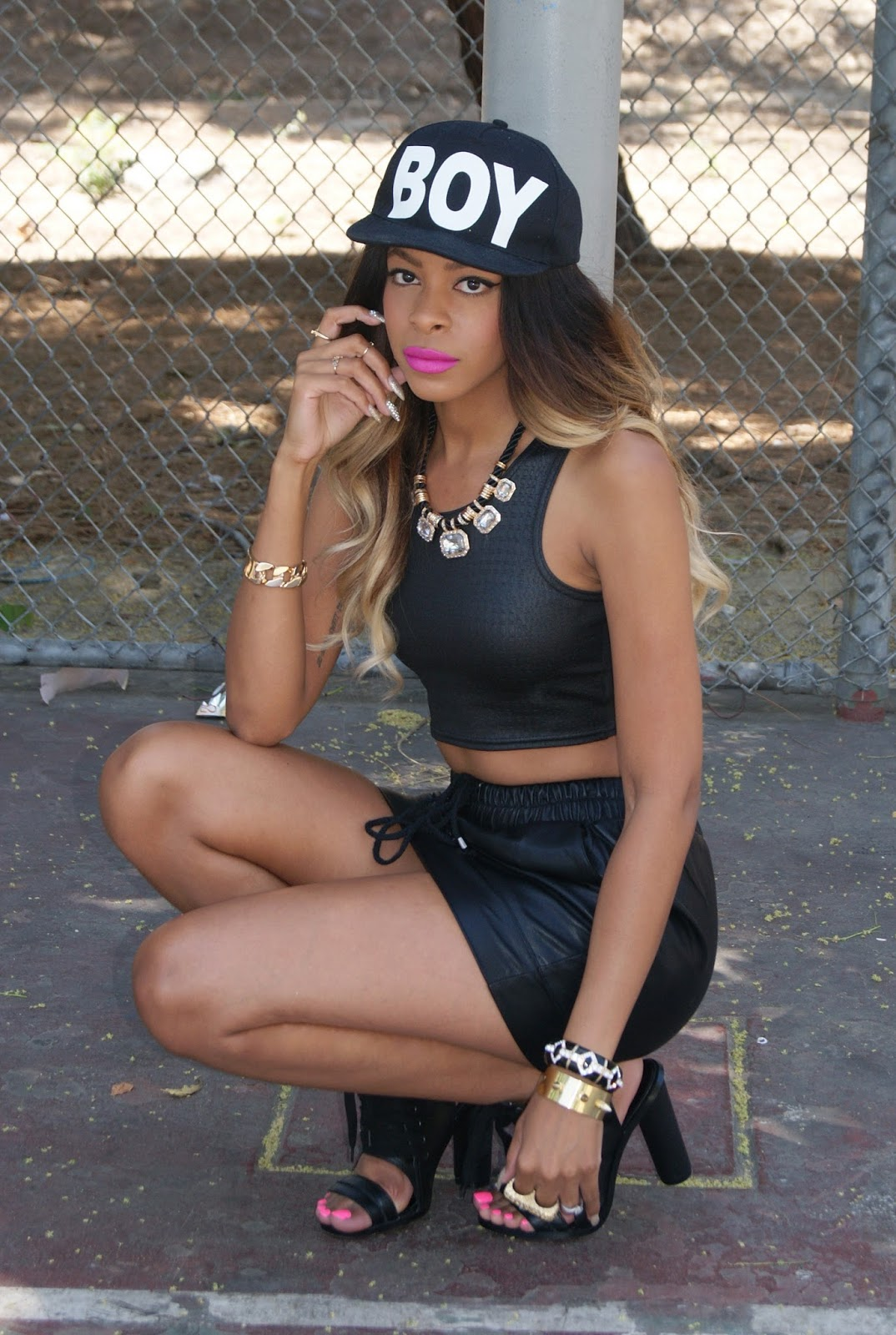 pretty mixed girls with swag - 430×640