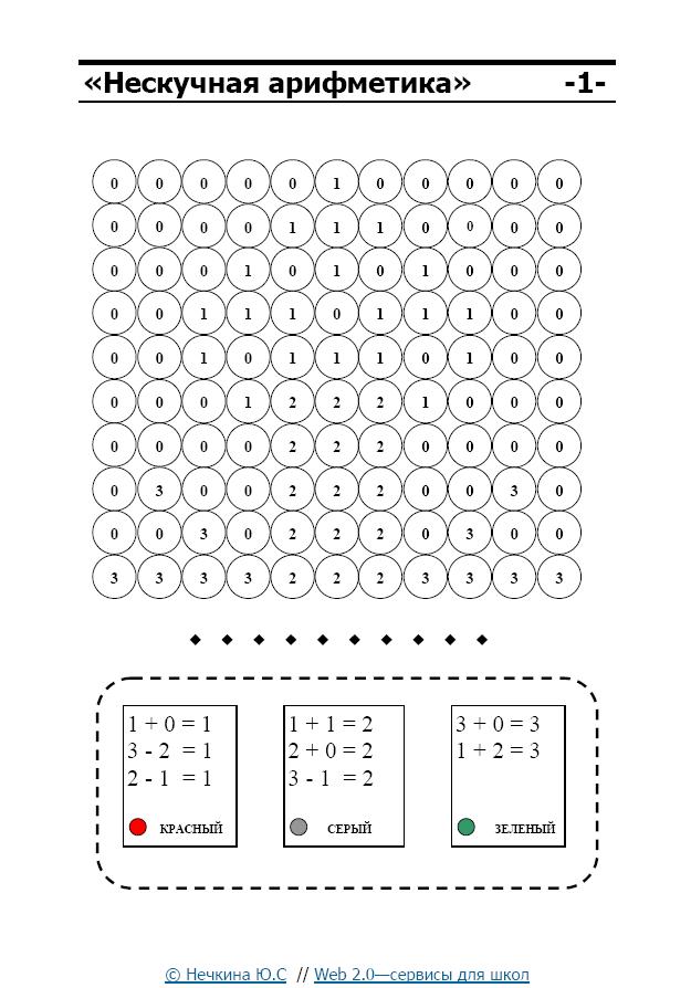 Математические раскраски на умножение на 2