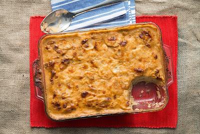 Chef Michael Smith's Bacon Potato Casserole Recipe - A Cascade Exclusive