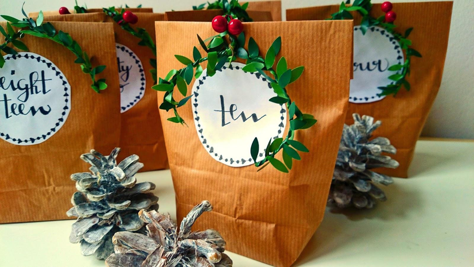 Diy Calendar Numbers : Our creative chaos coffee diy advent calendar free