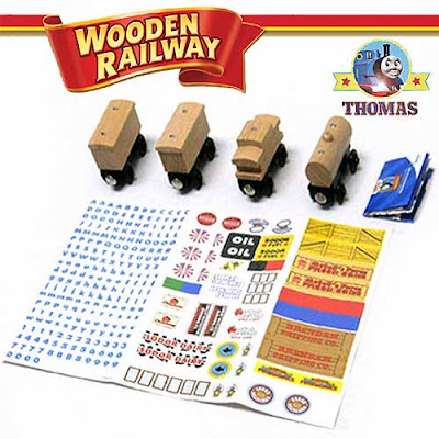 Childrens Learning Curve Model Thomas and his Friends Wooden Railway set Design-It Activity Kit toy
