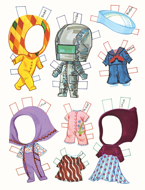Поделки из бумаги куклы из бумаги
