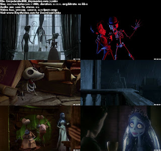 Corpse Bride (2005) 720p BRRip 500MB