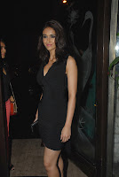 Ileana in Short Black Gowna t party of Phata Poster Nikala Hero