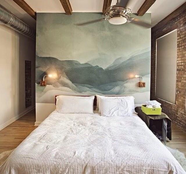 La técnica del degradado se utiliza para la decoración: paredes y muebles