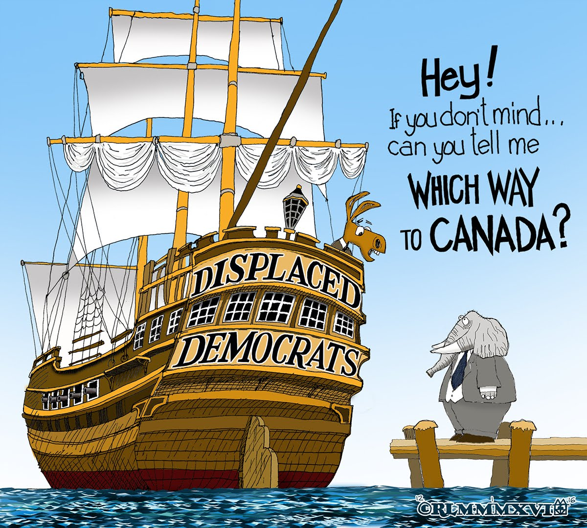 DISPLACED DEMOCRATS