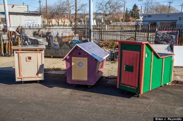 I've Seen People Turn Garbage Into Some Cool Stuff. But THIS…. This Is Absolute Brilliance. - but something that small can mean the world to someone living on the streets