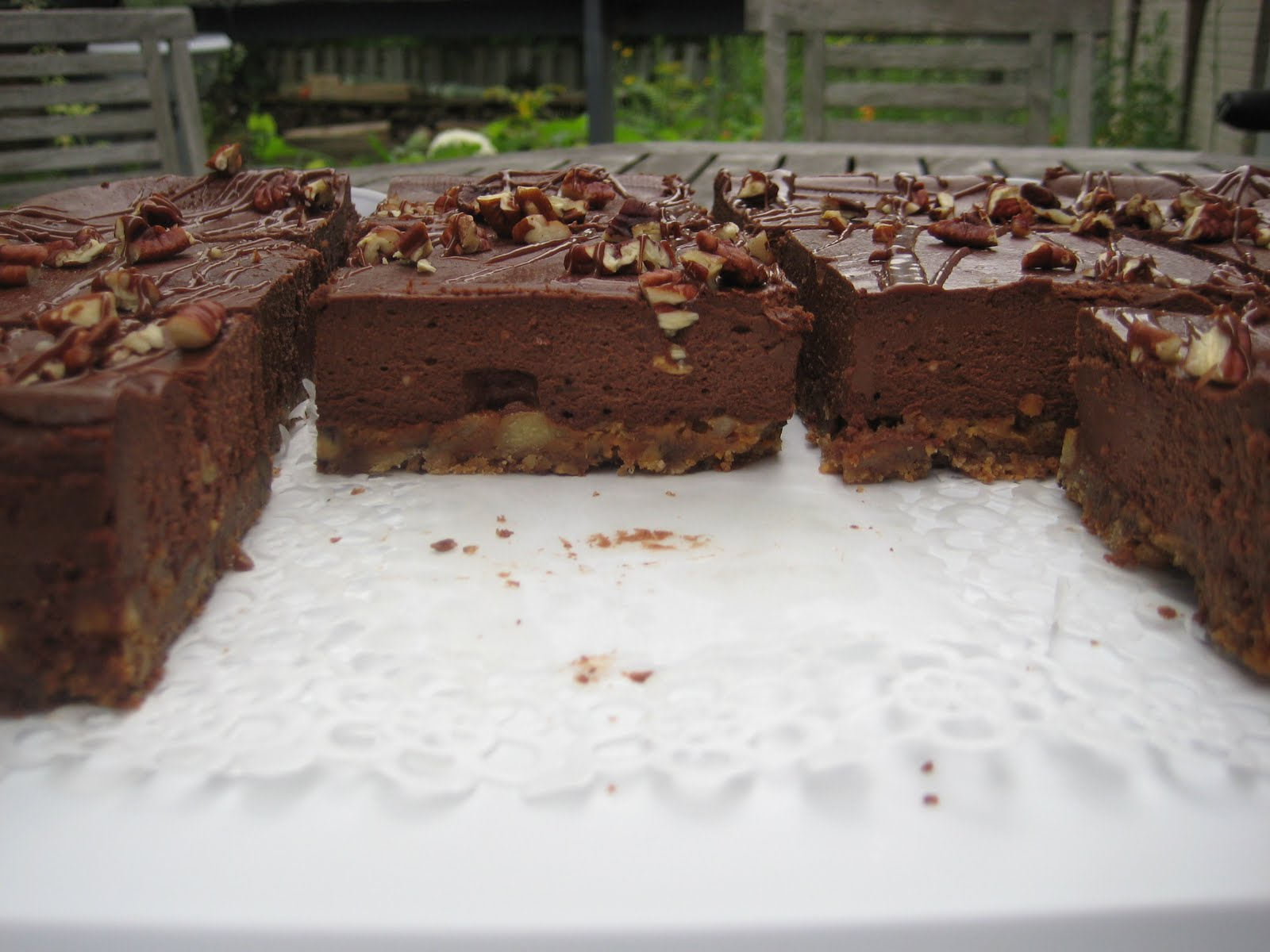 Chocolate Turtle Cheesecake: Testing Chocolate Turtle Cheesecake ...