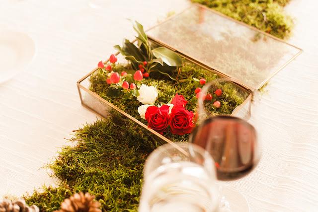 Cena de Navidad Mi Boda Rocks - Blog Mi Boda - Flores en terrarios