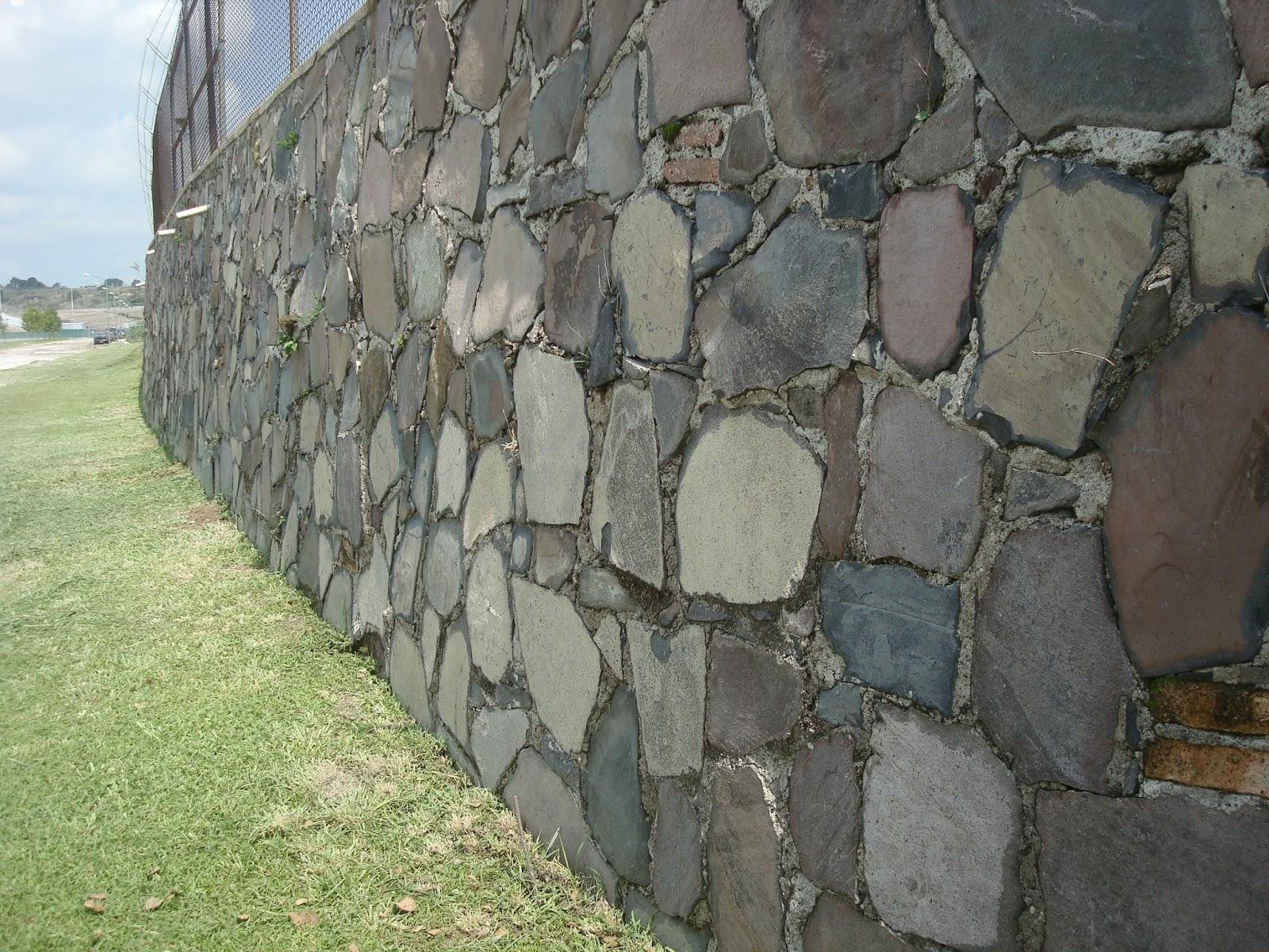 Sancarlosfortin muro de piedra en avenida universidad en - Imagenes de muros de piedra ...