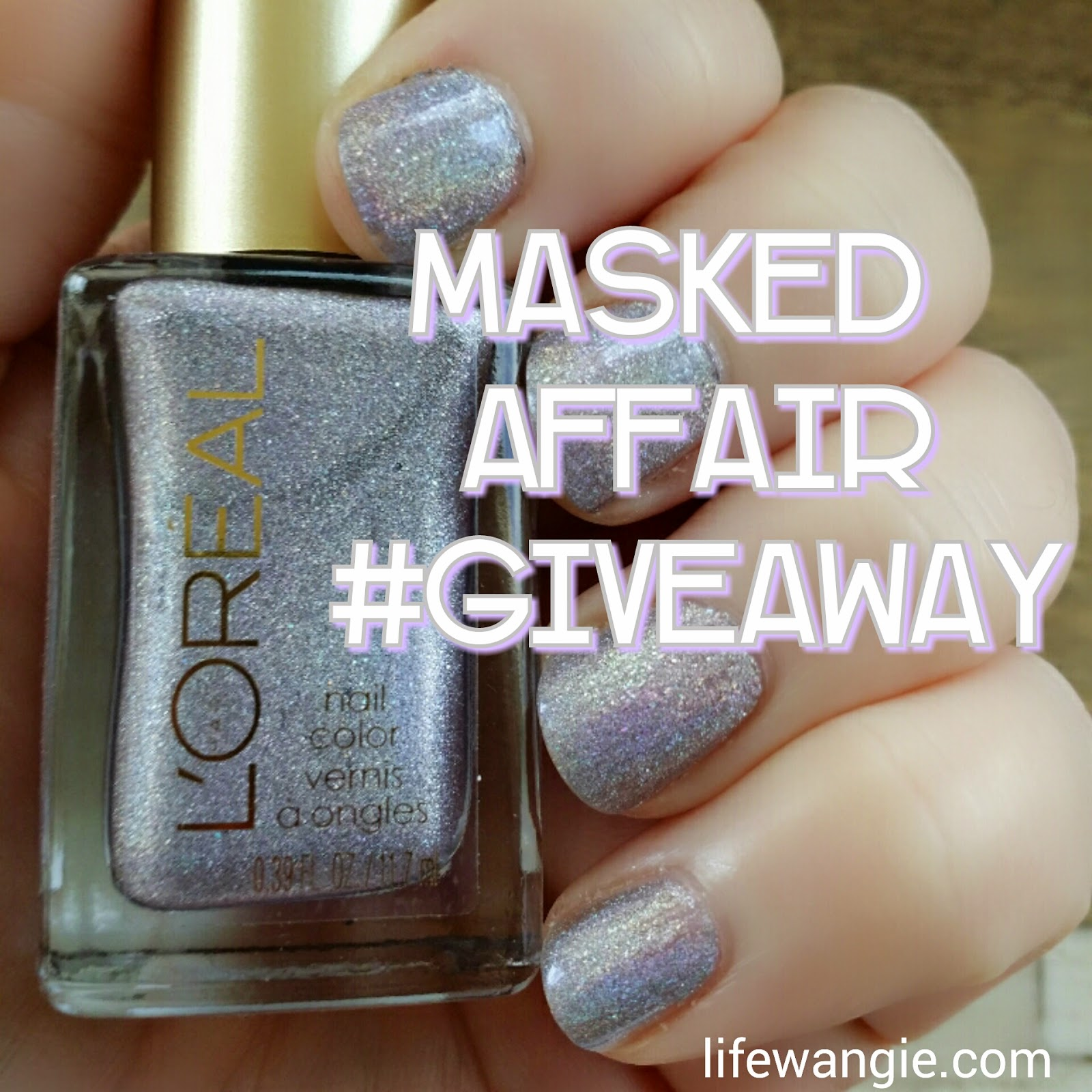 Masked Affair Giveaway