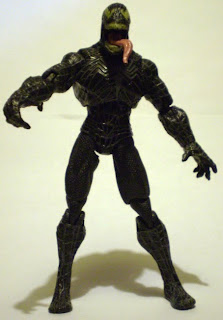 Front view of glow in the dark Venom action figure