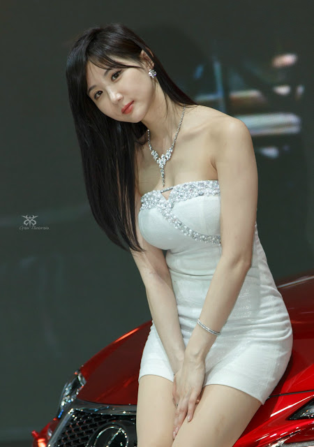 4 Yeon Da Bin - Seoul Motor Show 2015 - very cute asian girl-girlcute4u.blogspot.com