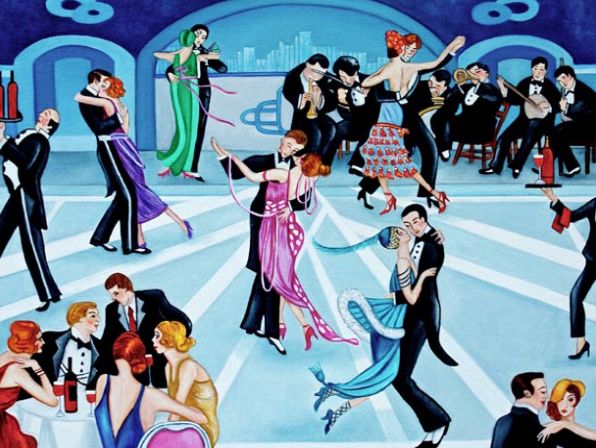 Art Deco - The Roaring 20's Dance Marathon